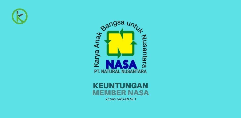 Keuntungan member nasa